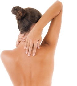 Female back - plastic surgeon, breast augmentation, implants, lifts