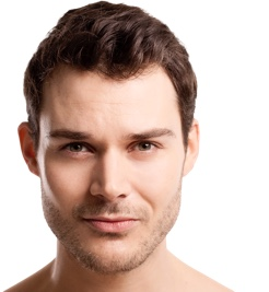 Male face - plastic surgery, breast augmentation, liposuction
